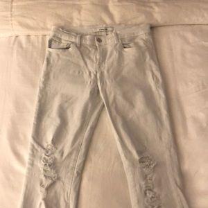 J Brand - skinny ankle jeans - size 27